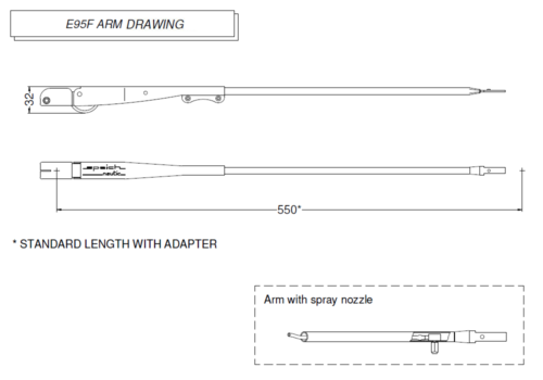 E95F Arm drawing