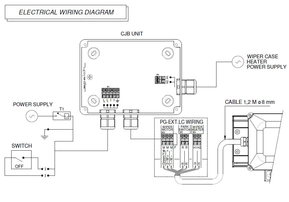 pg ext lc lc wiring diagram